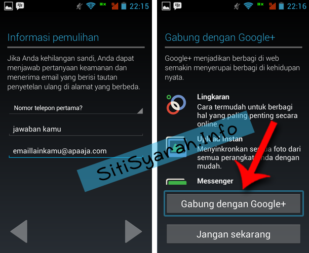 Cara Daftar Android Playstore