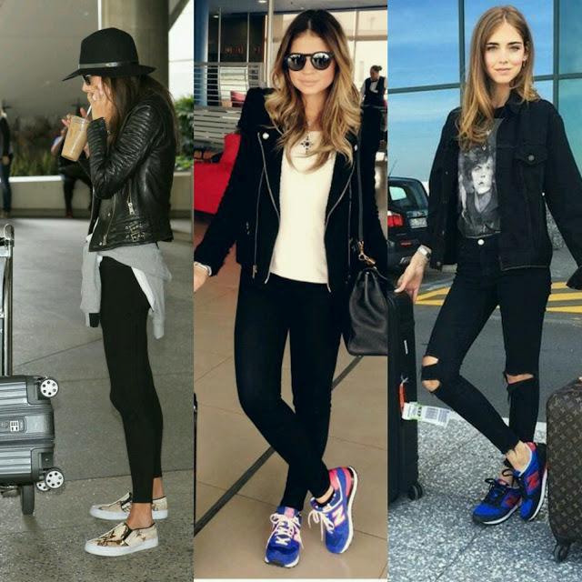 Looks de Aeroporto