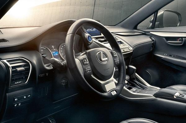Lexus NX 300 F-Sport Interior