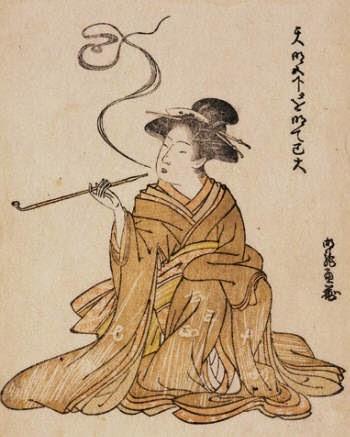 история табака в Японии