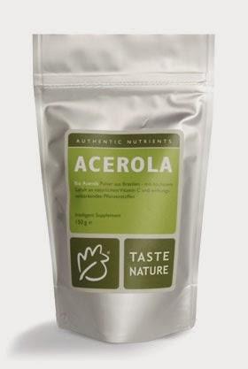 taste nature superfood tropenfr chte lebensmittel mit vitamin c acerola und camu camu. Black Bedroom Furniture Sets. Home Design Ideas