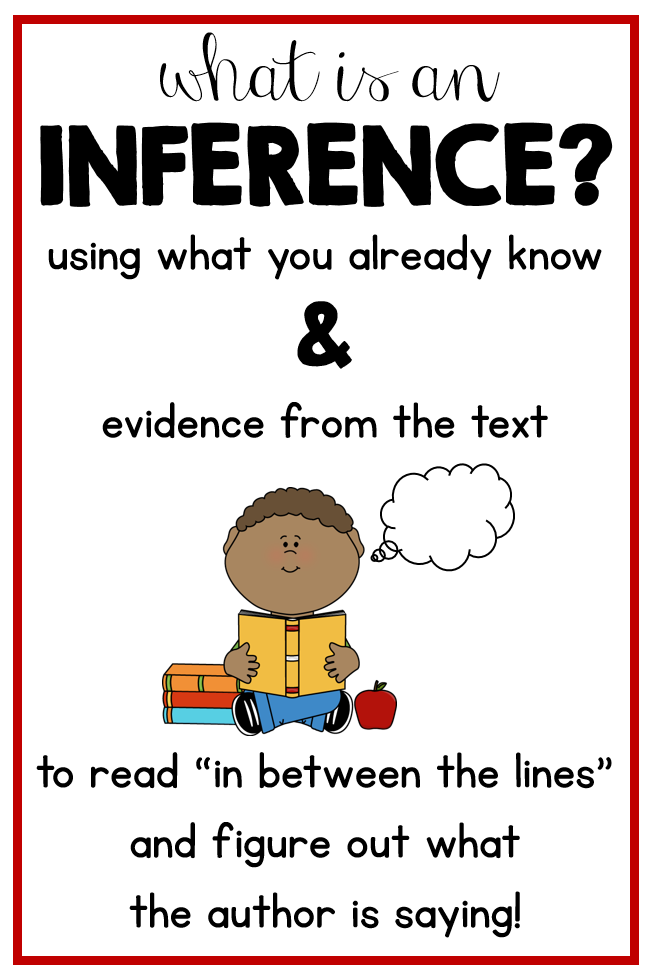 Making Inferences Lessons And Some Freebies Susan Jones