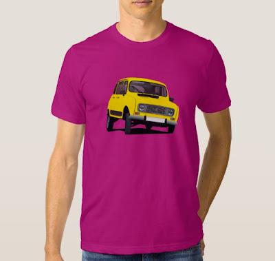 Renault 4 ripparellu t-paita