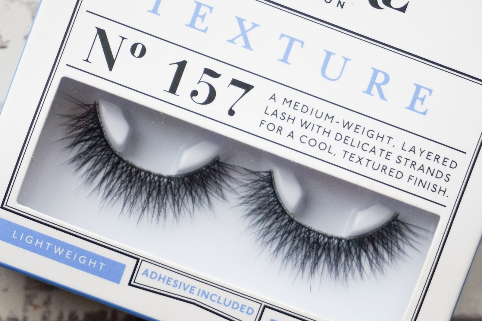eylure 157 review vegas nay grand glamor natural lashes lengthening texture