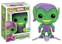 Funko Pop! Marvel: Translucent Glitter Green Goblin with Glider