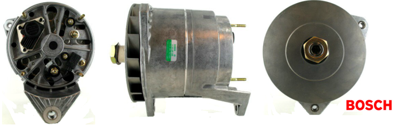 BOSCH Alternator Carbon Brush SET 1127014027