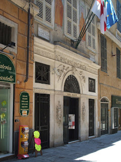 Mazzini's house in Genoa is now a museum