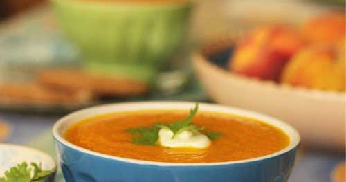 Lightly Spiced Carrot Soup – 'Eeeh. What's up Doc!'