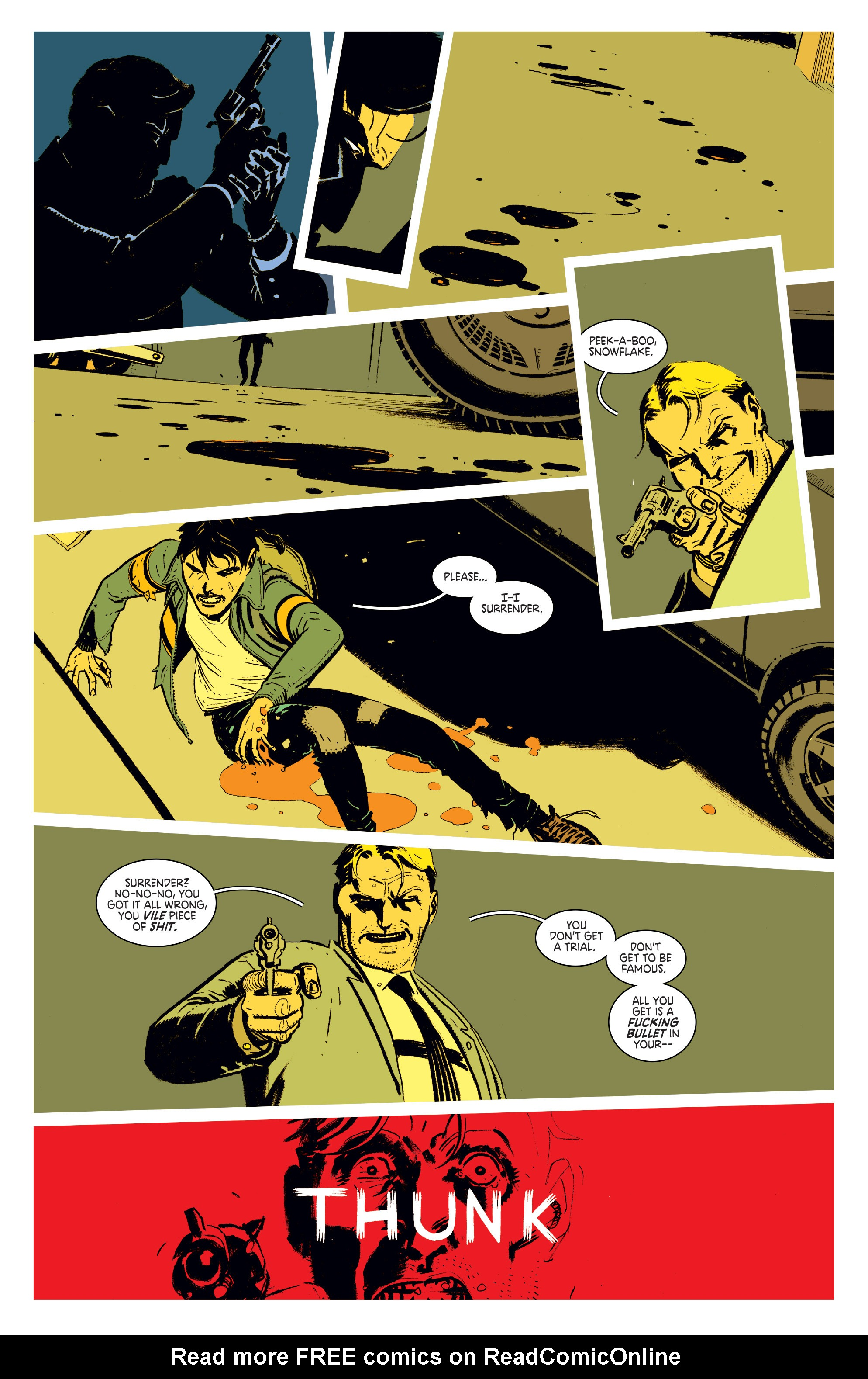 Read online Deadly Class comic -  Issue #1 - 22