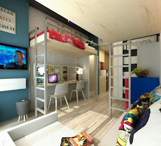 Show unit evencio, Show unit apartemen evencio, show unit apartemen, show unit minimalis