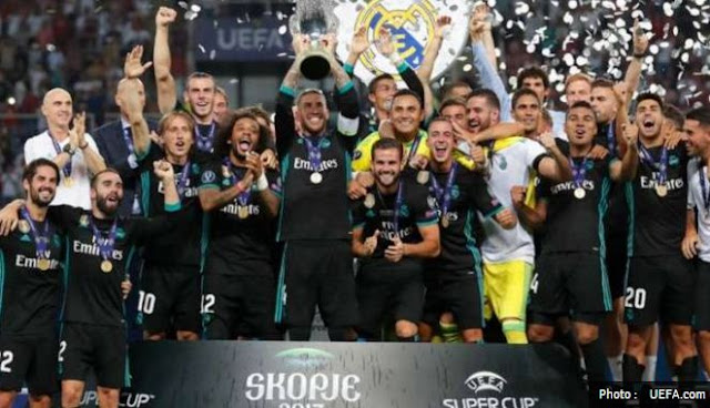 Real Madrid Juara Piala Super Eropa 2017 plus Video Gol & Highlights
