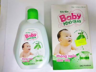 Sữa tắm Baby khổ qua của dược Hậu Giang