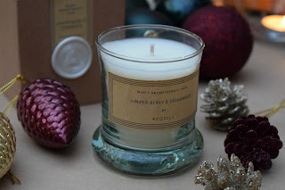 Aquill Aromatherapy candle Juniper berry and Cedarwood