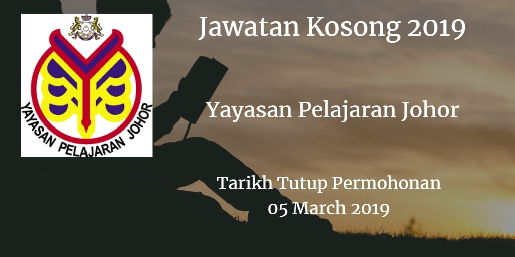 Jawatan Kosong YPJ 05 March 2019