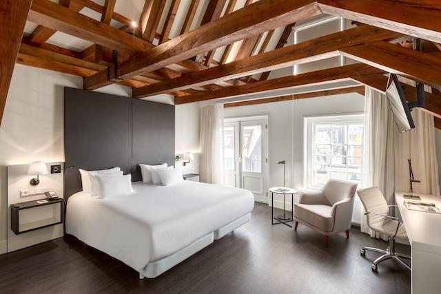 NH Barbizon Palace em Amsterdã - quarto