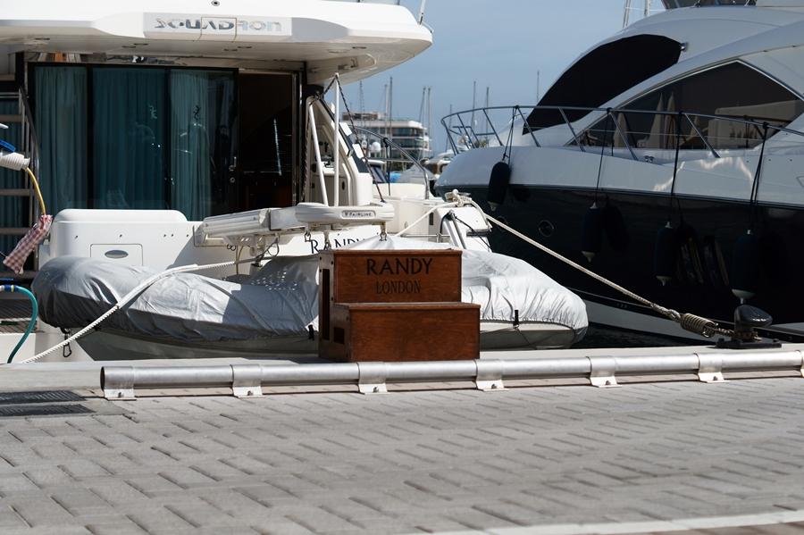Blog + Fotografie by it's me! - Reisen - La Isla Blanca Ibiza, Santa Eularia - Details einer Yacht in der Marina