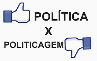 Resultado de imagem para politica ou politicagem