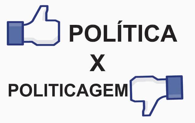 Resultado de imagem para Politicando ou Politicagem?