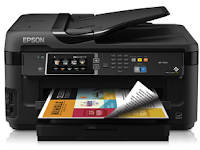Epson WorkForce WF-7610 driver download for Windows, Mac, Linux
