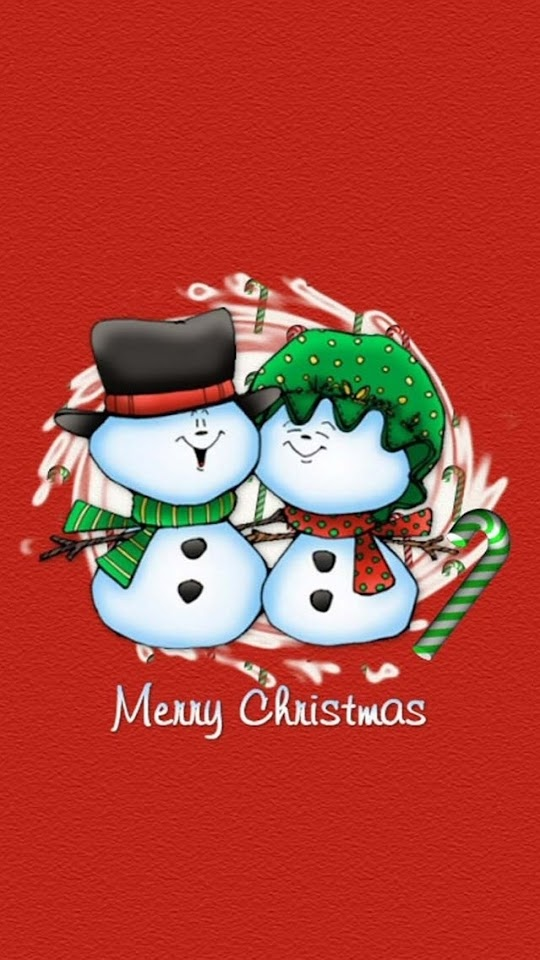 Snowman Merry Christmas  Galaxy Note HD Wallpaper