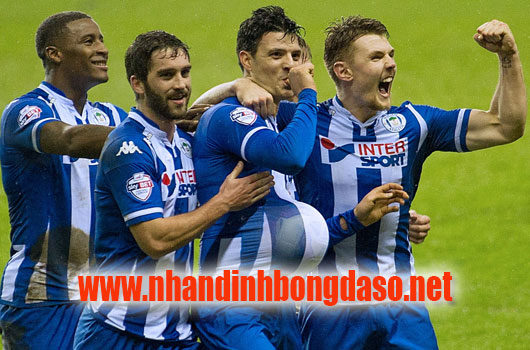 Wigan vs Bournemouth www.nhandinhbongdaso.net