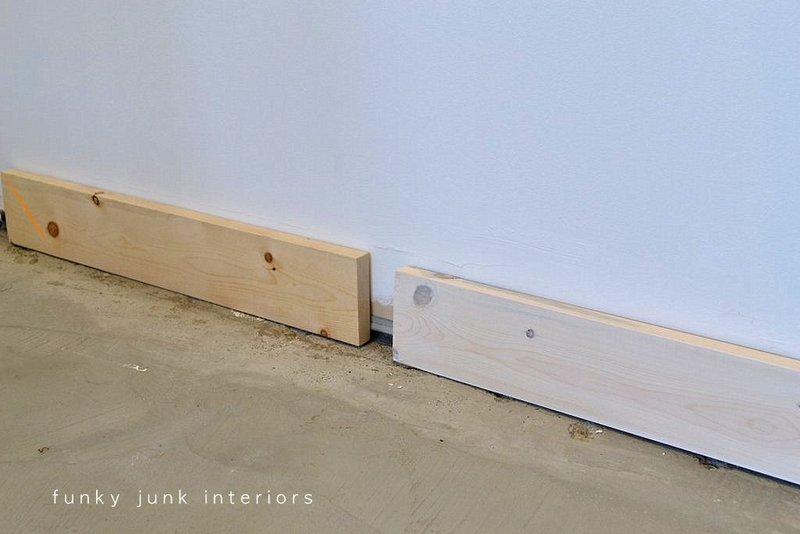 Cheater Baseboards And A Special Win Funky Junk