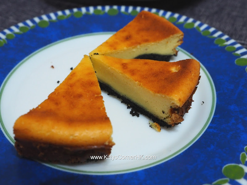 Baked Cheese Cake with Rum 香烤朗姆酒芝士蛋糕 自家食譜 home baking recipes