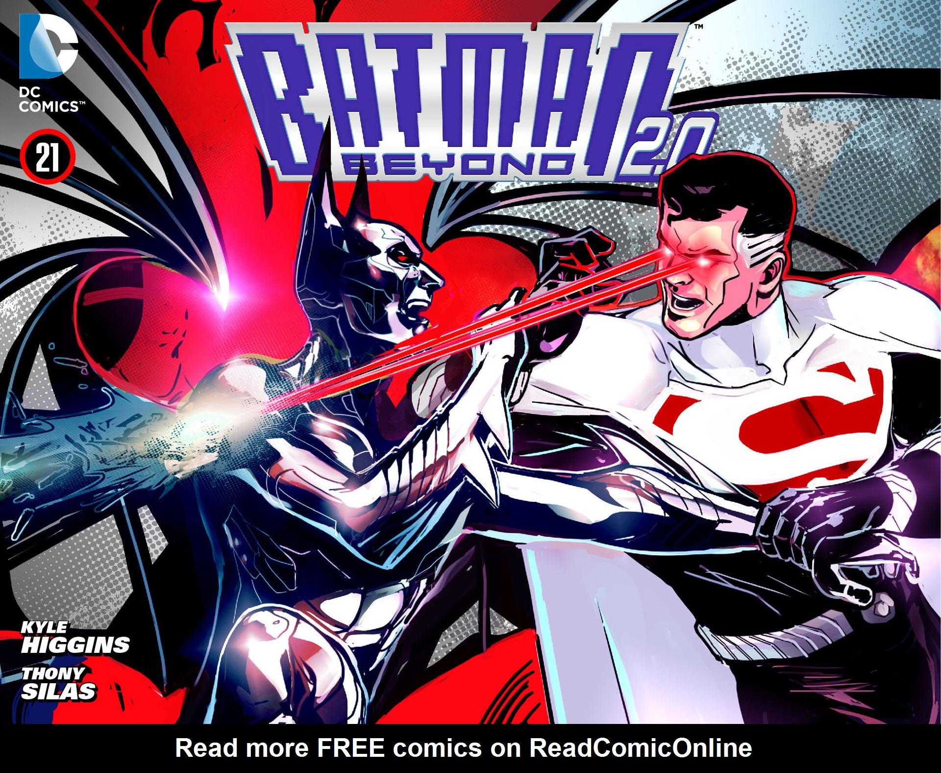 Batman Beyond 2.0 21 Page 1