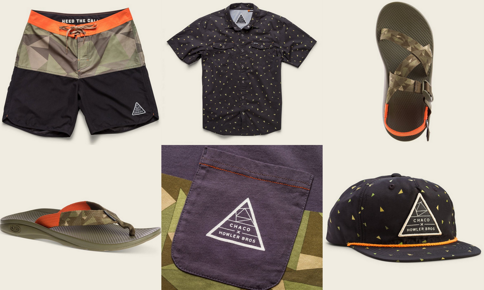7521b12fa99 The peeps at Howler Brothers have linked up with Chaco to offer a limited  edition collection of apparel
