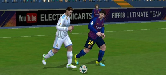 FIFA 14 FIFA 18 Mod Apk + Data Obb by Hafiz for Android