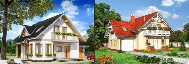 Tipuri de case moderne