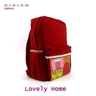 tas ransel lucu, tas sekolah anak, tas ransel unik