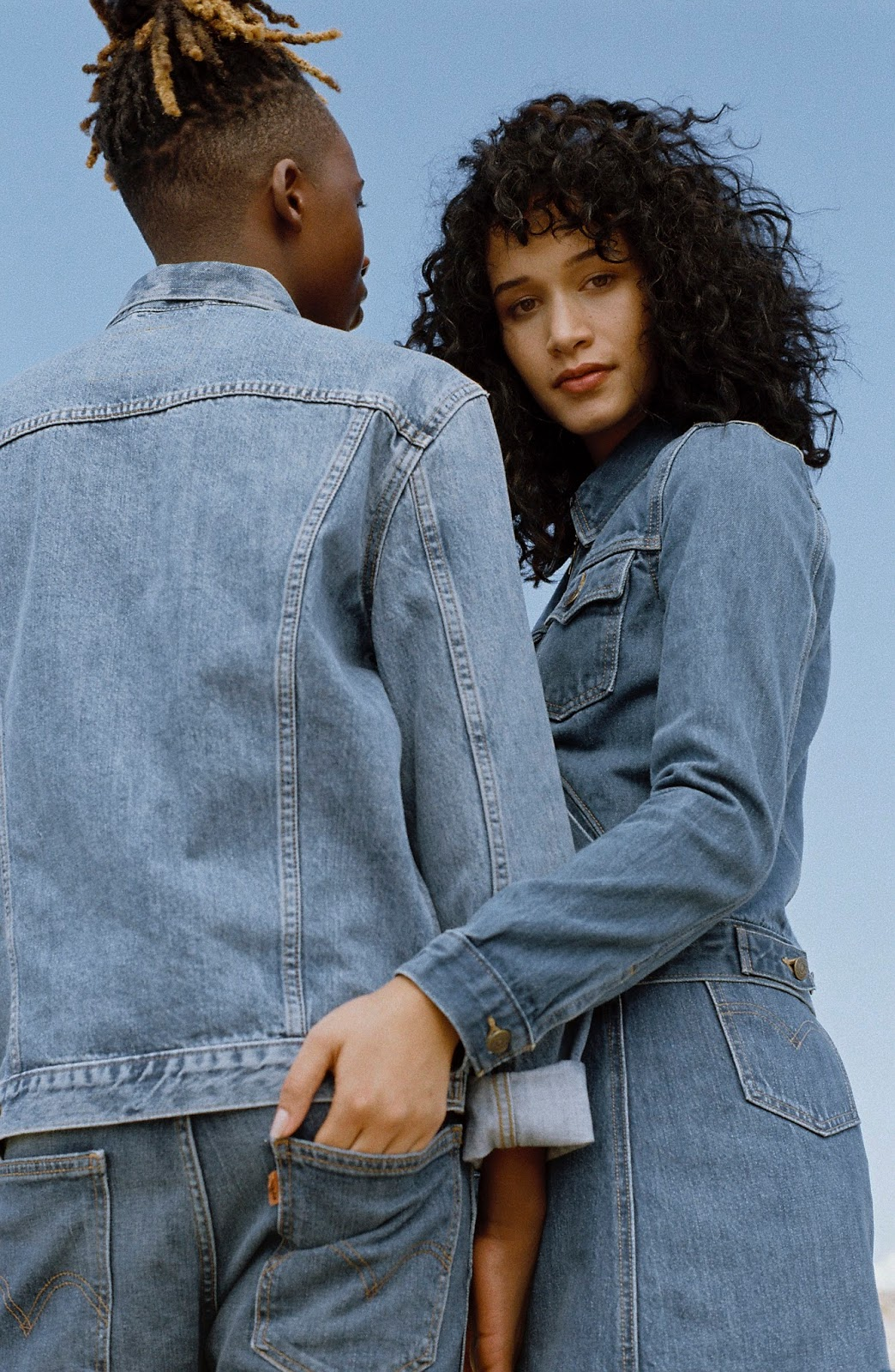 23c05b220d4 Swag Craze: Check Out The Levi's® Orange Tab Collection Campaign Featuring  Sydney & Will