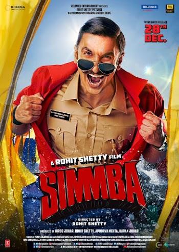 28 दिसंबर को रिलीज हो रही है रणवीर सिंह  फिल्म 'सिंबा'