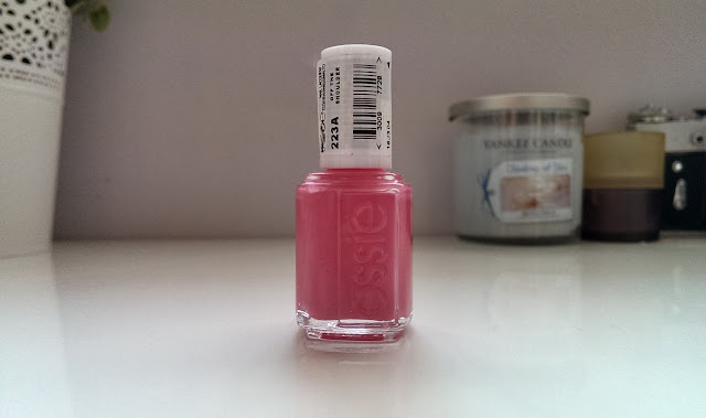 Essie's Off the shoulder pink nail polish