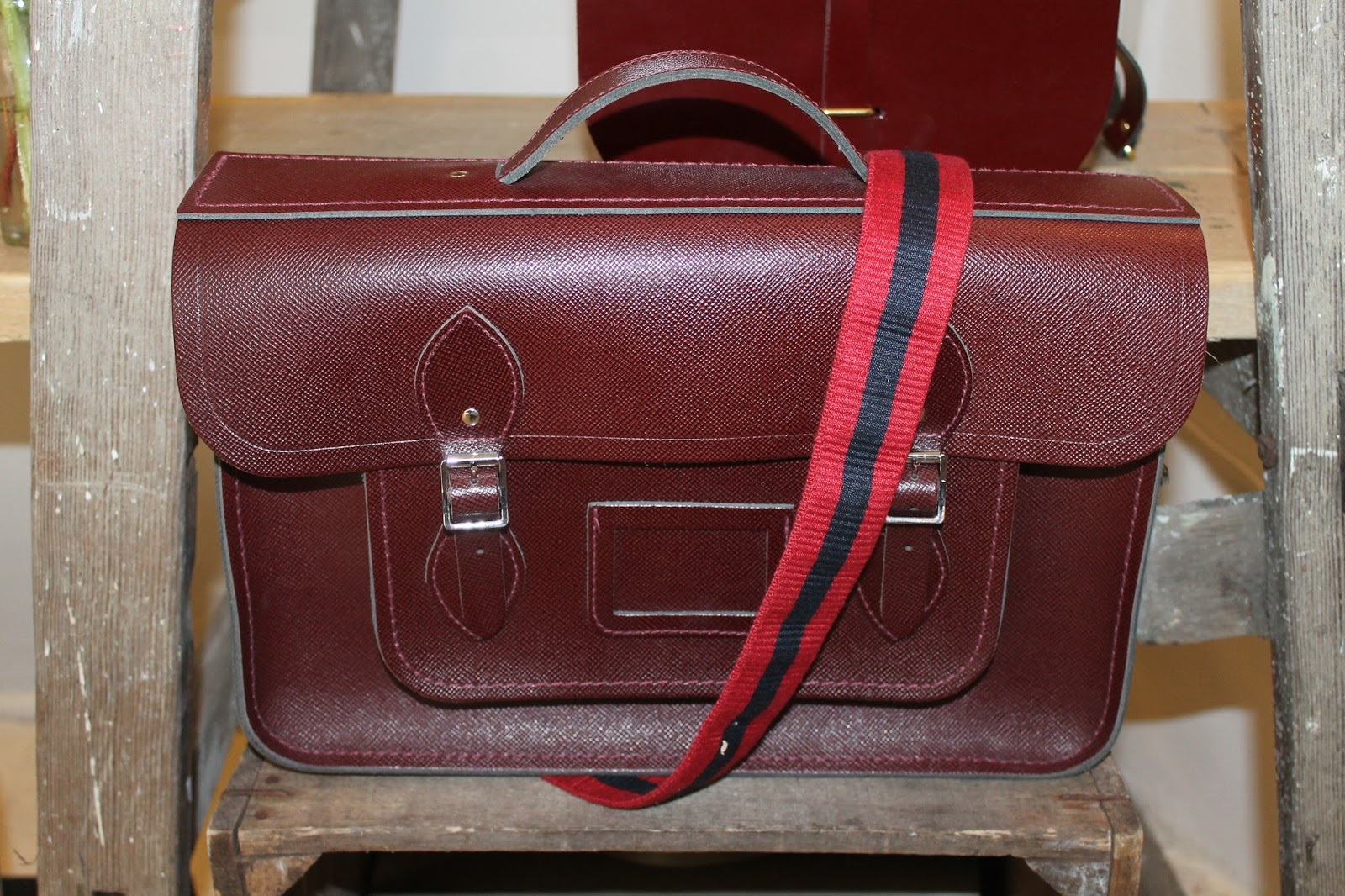 f06edfec69f *In Store* I love the classic design of The Cambridge Satchel Company bags.  They are exactly like my school bag when I was at primary school.