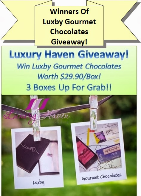 luxury haven luxby gourmet chocolate giveaways