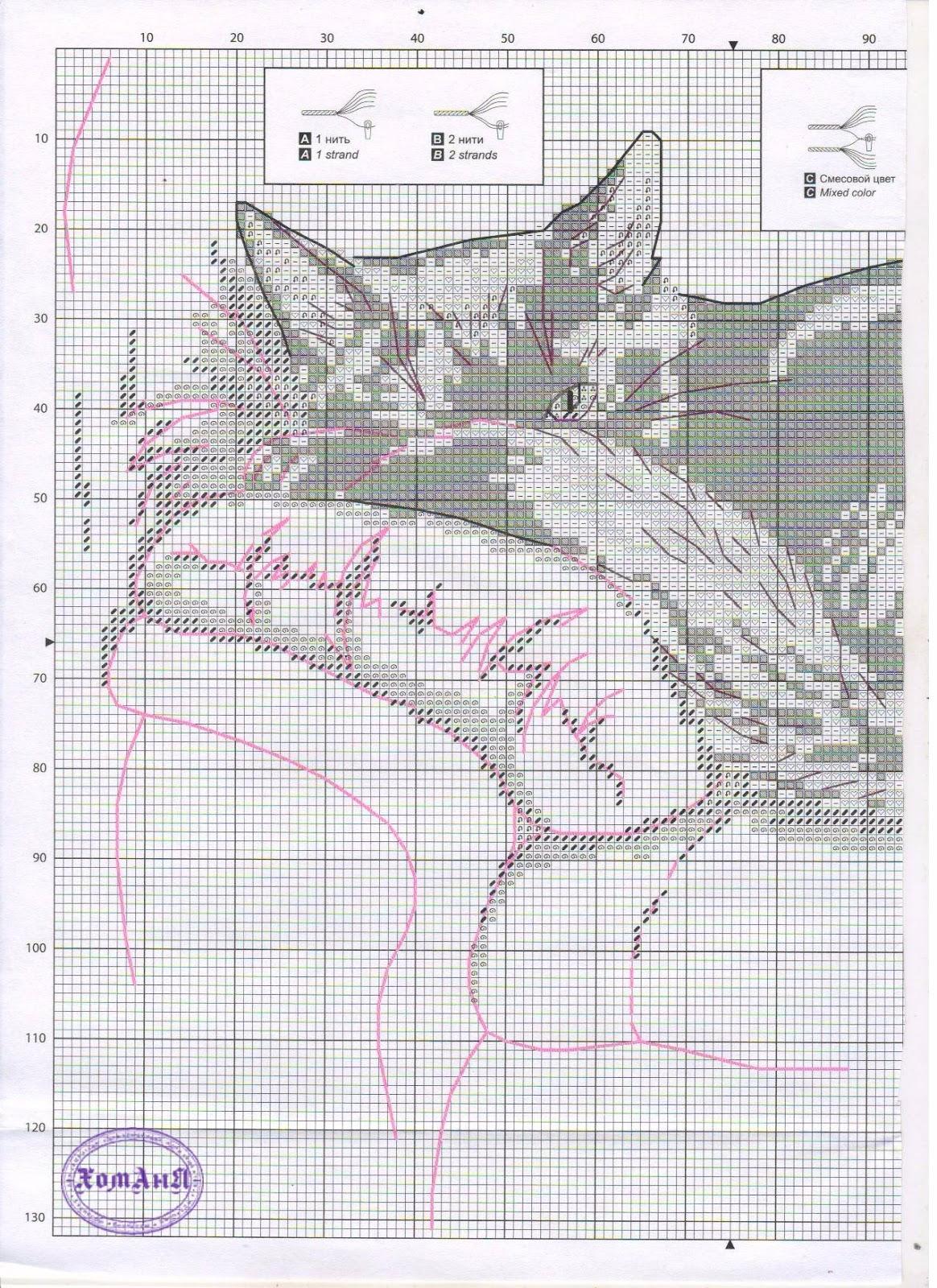 Схема вышивки черным белому фото 486