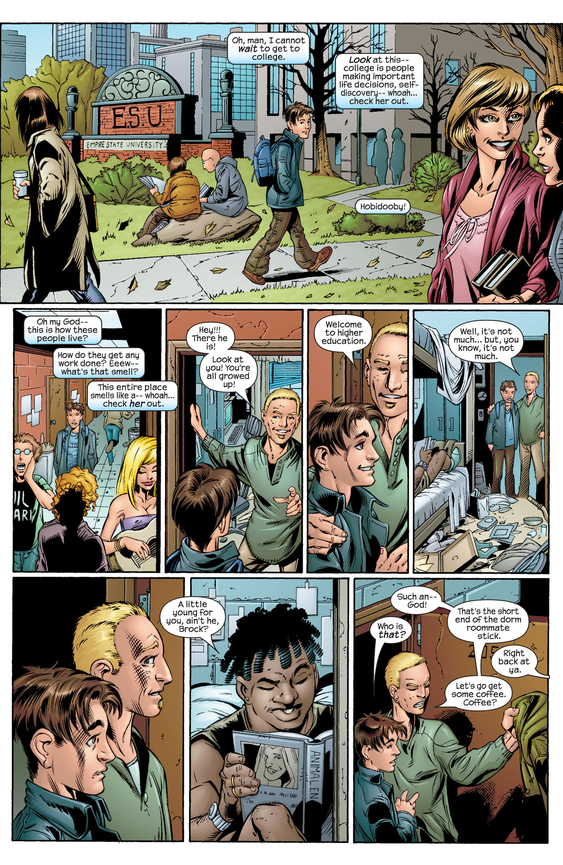 Read online Ultimate Spider-Man (2000) comic -  Issue #33 - 17