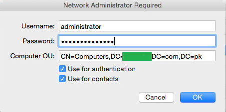 IT WORLD: How to join a Mac OS X Yosemite computer to Active