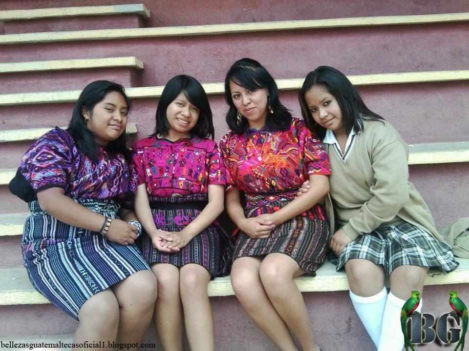 Chicas Bonitas De Xela: Bellezas Guatemaltecas (Oficial): Trajes Tipicos De