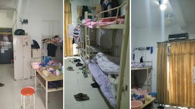 Dormitorios de los trabajadores de Pegatron, fábrica china de producción de iPhoneschinalaborwatch.org