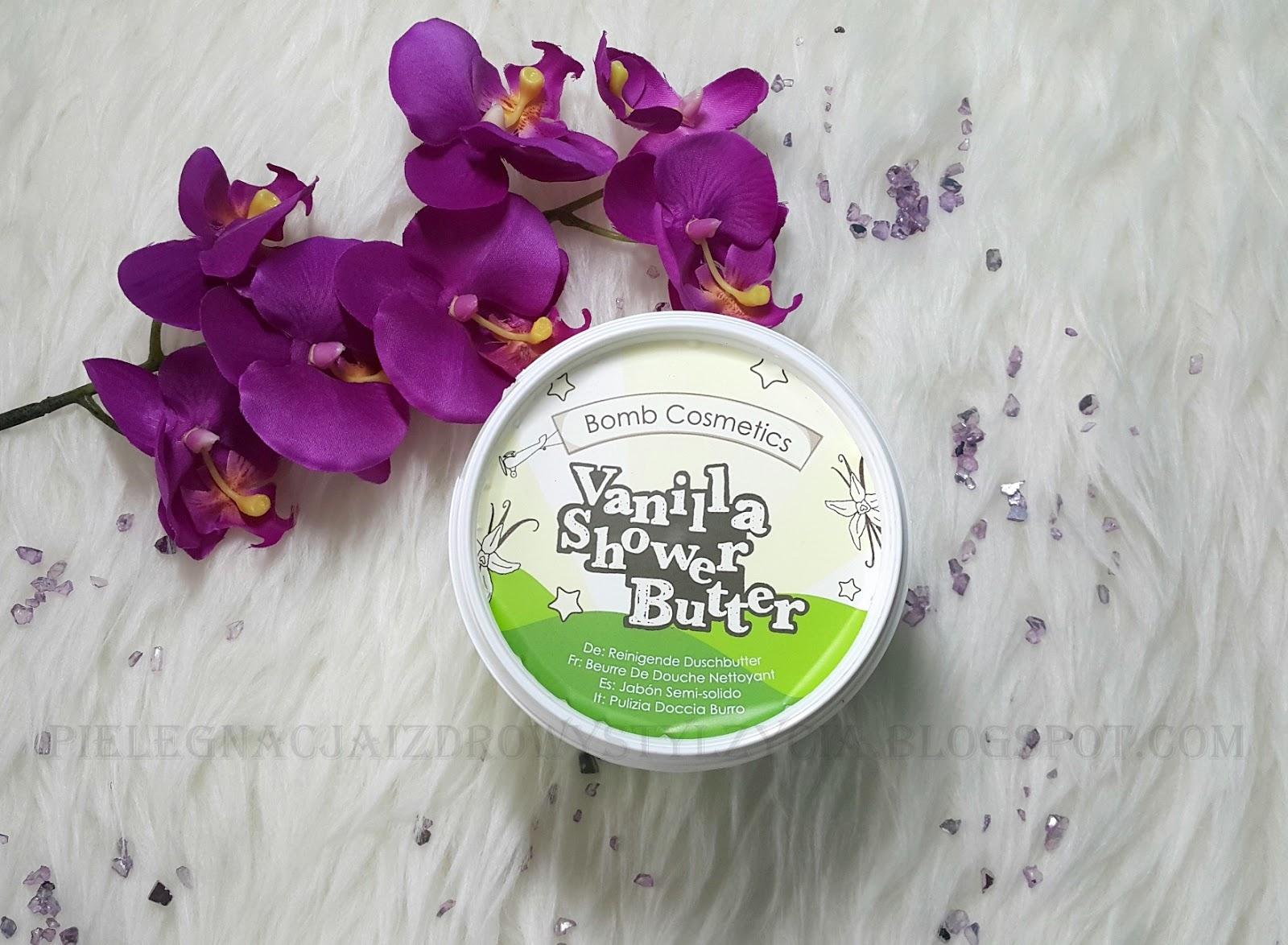 Bomb Cosmetics masło pod prysznic lody waniliowe - Vanilla Shower Butter