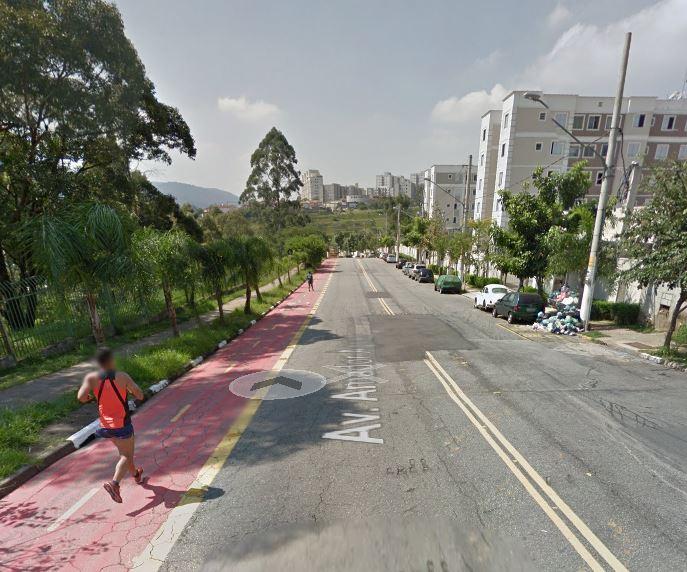 O Retão tem ruas largas, ciclovia, subidas e descidas longas