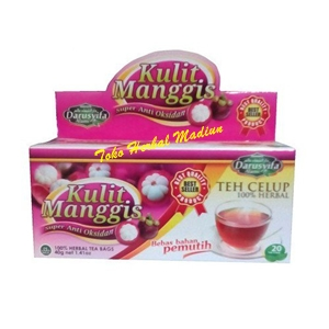 Teh Celup Herbal Kulit Manggis Darusyifa Alami