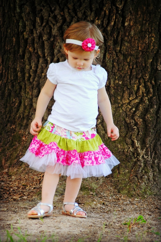 Sewing Patterns for Girls Dresses and Skirts: Sewing Pattern, Twirly ...