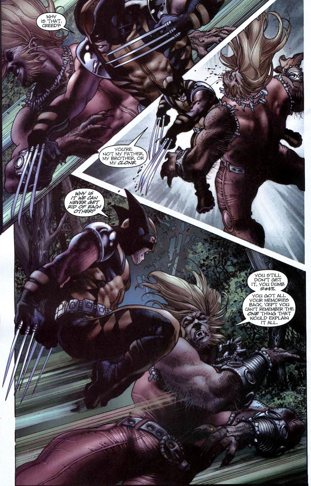 Read online Wolverine (2003) comic -  Issue #50 - 19
