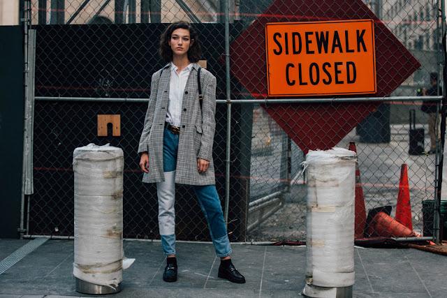 New York Fashion Week SS18 Street Style