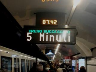 La Metro A, il parere degli utenti