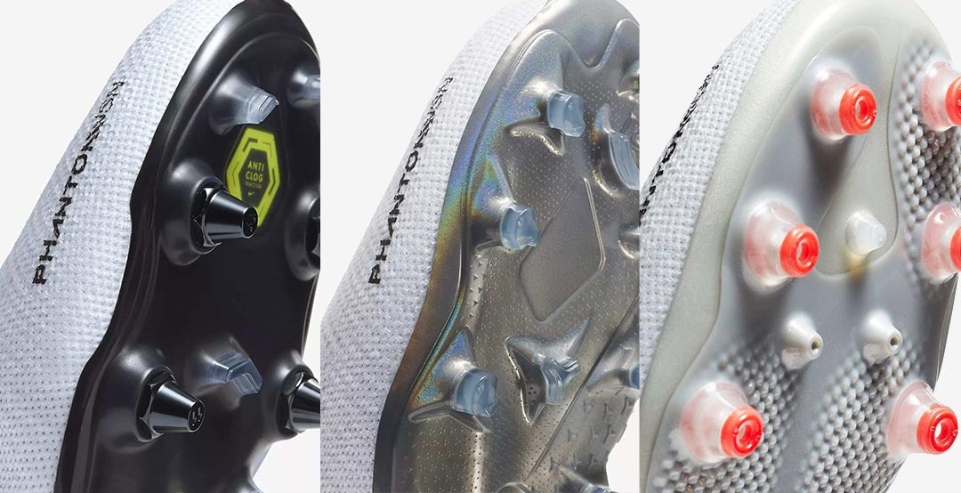 b2042cc032be We take a look at the different sole plate versions of the all-new Nike  Phantom Version 2018 football boots